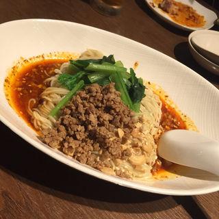 本場汁なし担々麺   (四川Dining&Bar臥龍 創香 )