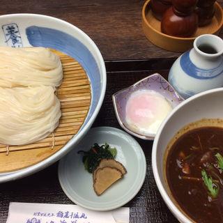 温玉肉味噌つけうどん(佐藤養助 日比谷店 )