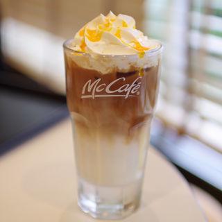 アイスオレンジフレーバーラテL(マクドナルド 氷上店 (McDonalds))
