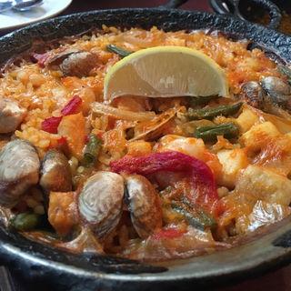 パエリア(スペイン料理 イビサ (IBIZA))