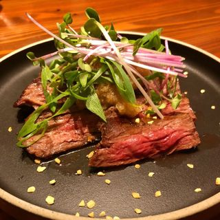 牛ハラミと九条葱(おばんざいと純洋食 アイサニ)
