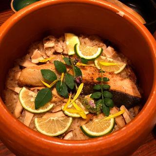 土鍋ピラフ(おばんざいと純洋食 アイサニ)
