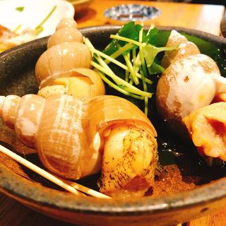 バイ貝の旨煮(まんまじいま)