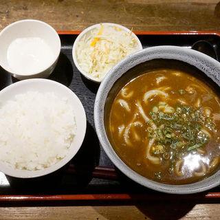 カレーうどんセット(麺や ほり野)