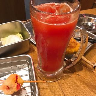 トマトチューハイ(串かつ でんがな 大阪駅前第3ビル店)