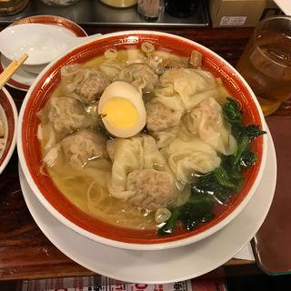 広州雲呑麺(広州市場 西新宿店 )