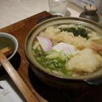 大海老天ぷら鍋焼きうどん