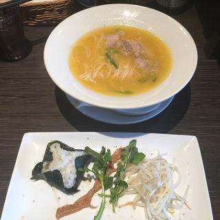 福島鶏白湯(たなつものSHOKUDOU)
