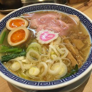 サバ塩そば(サバ6製麺所 お初天神店)