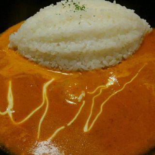 トマトクリームソースのえびカレー(cafe HINATA-YA (ヒナタ屋))