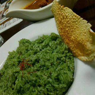グリーンライスカレー(cafe HINATA-YA (ヒナタ屋))