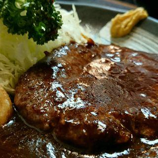 ハンバーグ定食(とんかつ丸福 )