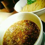 鶏もつつけ麺(清麺屋)