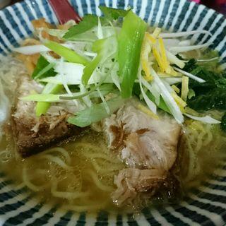 しじみ出汁あっさりラーメン(男前☆飛雄馬 総本店 (おとこまえ☆ひゅうま))