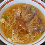 鶏チャーシュー麺(中華そば 嘉一)