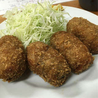 カキフライ定食(多け乃 (たけの))