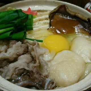 オリーブ牛の鍋焼うどん(うどん棒 大阪本店 )