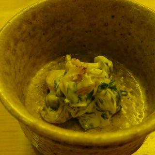 柿の白和え(安愚楽 (あぐら))