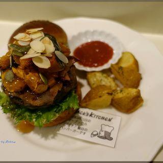 キャラメルナッツパンプキンバーガー(JACK's KITCHEN (ジャックスキッチン))