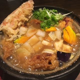 カレー鍋焼きうどん(のらや なんばCITY南館店 (【旧店名】手打草部うどん のらや))