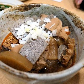 もつ煮込み 豆腐入り(炭火串焼き「昌」 (マサ))