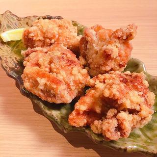 自慢の国産鶏唐揚げ(串カツ とんかつ jiro)
