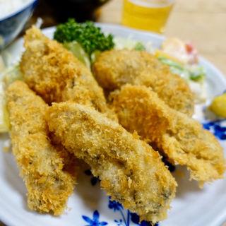 カキフライ定食(三洲屋銀座店)
