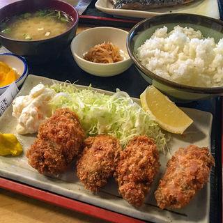 カキフライ定食(魚や 日本橋店 (さかなや))