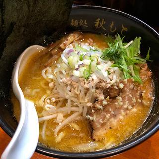味噌ラーメン(麺処 秋もと)