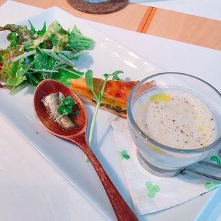 ツカグチランチ 前菜(クローバー (Cafe.Cuisine&ComfortCLOVER))