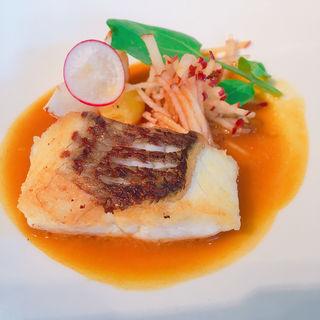 ツカグチランチ 魚料理(クローバー (Cafe.Cuisine&ComfortCLOVER))