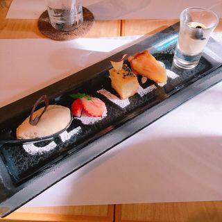 ツカグチランチ デザートプレート(クローバー (Cafe.Cuisine&ComfortCLOVER))