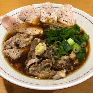 中華そば たろちゃんSP鶏レアチャーシュー乗せ(醤油と貝と麺 そして人と夢 )
