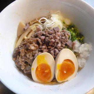油そば(牛骨らぁ麺マタドール 本店 )