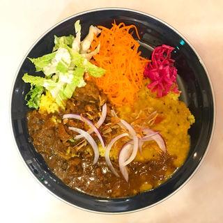粗挽キーマカリ〜(Curry & Spice Bar 咖喱人)
