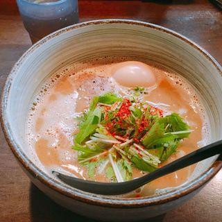 味玉ラーメン(麺処 と市)