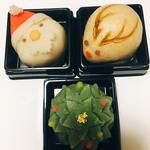 クリスマス限定和菓子(千壽庵吉宗 学園登美ケ丘店 (センジュアンヨシムネ))