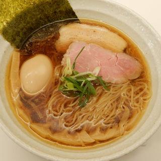 醤油玉子らぁ麺(ダイニングバー ミラコロ)