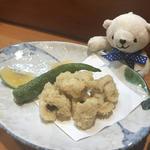 ハモの唐揚げ(魚菜 もも)