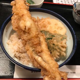 穴子天丼(天ぷら かんだ)