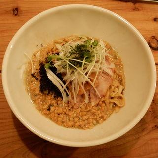 納豆油そば(ヌードルズ&サルーン キリヤ)