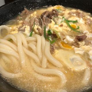 肉とじうどん(庵 (いおり))