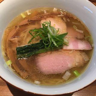 白醤油(らぁめん鴇 (とき))