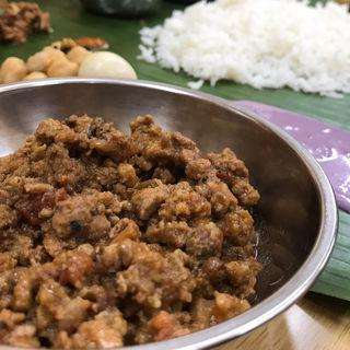 ラムキーマカレー(negombo33 (ネゴンボサンジュウサン))