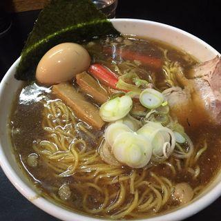 純正(ヒロポン)スープのかけラーメン100ver.(一条流がんこラーメン 総本家 (【旧店名:ふわふわ】))