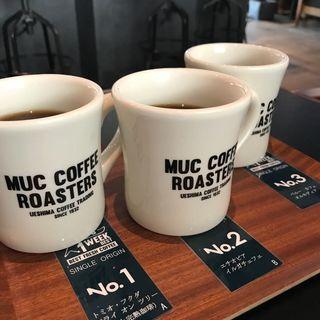 オススメコーヒー(マック・コーヒー・ロースターズ うつぼ公園店)