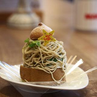 熊本栗のモンブラン(空気ケーキ。 )