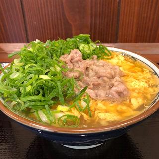 肉たまあんかけ(丸亀製麺 伊丹南町店 )