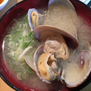 あさり汁(廻鮮寿司 塩釜港 塩釜店 (かいせんずし しおがまこう))