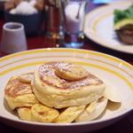 リコッタパンケーキ フレッシュバナナ ハニーコーム(bills 大阪 (ビルズ))